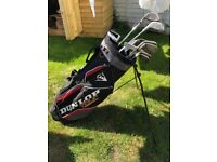 Golf clubs and bag, full set, perfect for beginner
