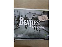 Xbox 360 beatles limited edition rockband