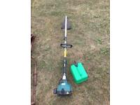 Petrol grass strimmer