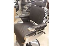 Black and White Barber Chairs 5 Available