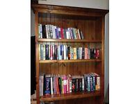 Stunnign Large Tall Dark Wood Bookcase - LANCS