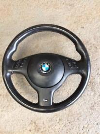 Bmw e46/39/e53 M sport steering wheel