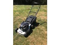 Mount field self propelled petrol lawn mower