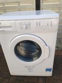 Litterally. Brand New 6kg. 1200 spin. W/Machine