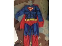 Superman Fancy Dress Costume, 5-6 years