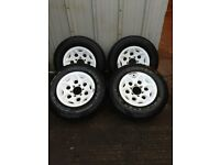 "Mitsubishi L200 16"" Alloy Wheels"