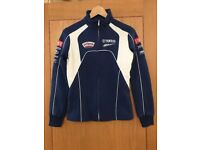 Ladies Yamaha Zipped Sweater. Brand new with tags. Size Medium.
