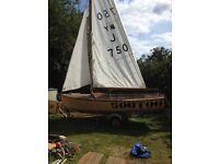 12ft sailing boat