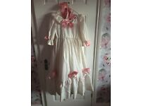 Beautiful old fashioned dress worn in play
