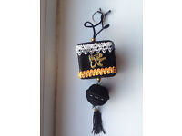 Car mirror hanging ornament of Kaba, Allah&Muhammad,written on4sides of cube,car decoration,only