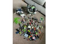 Playmobil future planet and extras