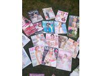 Job lot wedding magazines and book