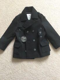 Brand new boys coat Age 3-4