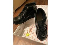Ladies size 5 Black patient kickers