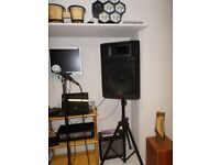 """REDUCED"" KARAOKE SET-UP FOR SALE £400 WITH SONGS ( Please read add ) ""REDUCED"""