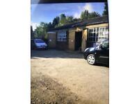 Workshop for rent