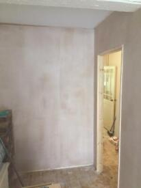 Plasterer available in Leciester