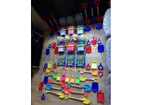 Wholesale Job Lot Of Brand New Beach Items All With Tags.