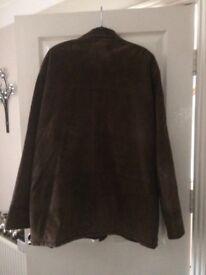Mans suede jacket. Dark brown. Size XL. 52in. chest. Excellent condition. Eastbourne