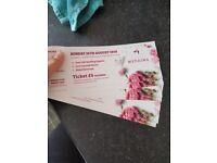 6 wedding show tickets