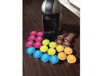 Nescafe Dolce gusto coffee pod machine with 24 pods