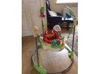 Fisher price jumperoo rainforest like new