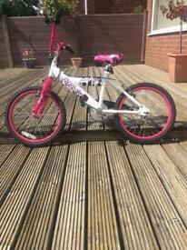 "Girls 17"" bike"
