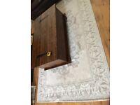 Laura Ashley grey rug 240x155cm