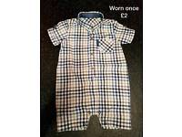 Boys 3-6 summer clothes