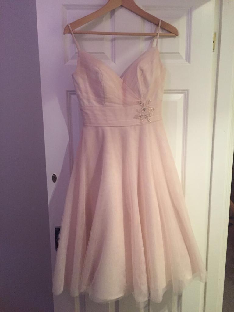Blush pink dress size 8
