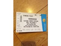 Noel Gallagher tickets (a pair)