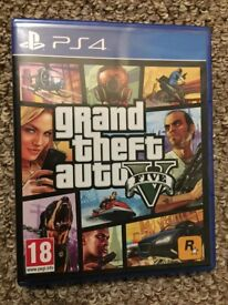 Grand theft auto 5 PlayStation 4