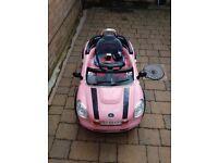 pink battery 12v ride on mini