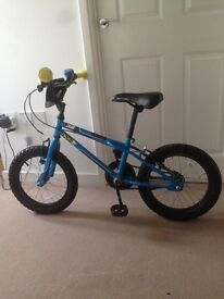 """Apollo Ace Boys Bike - 16"""" Age 5-8 years BMX style frame Good condition collect only"""