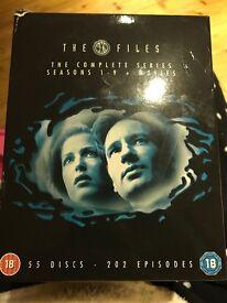 Complete X-files DVD box set