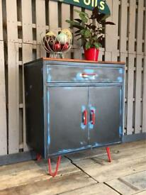 Industrial steel cabinet cupboard unit