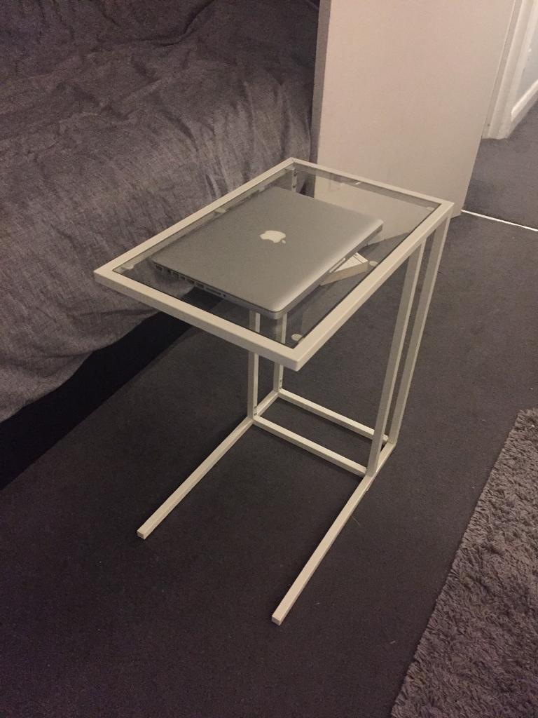 Ikea VittsjÖ Vittsjo Laptop Stand Side Table