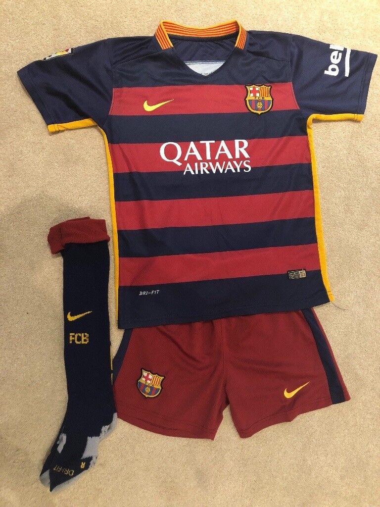 low priced b16f8 cebd9 Football kits Spain, FC Barcelona home/away | in Cyncoed, Cardiff | Gumtree