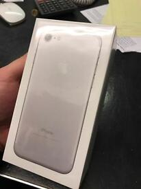 Sealed iphone 7 128g silver