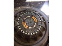 """Celestion BN12-300S 4ohm NEO Bass Guitar Speaker 12"""" - ultra light"""