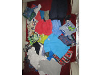 Huge Boy's Bundle of Summer Clothes Age 5-6 Yrs Old , 7-8 Yrs Old H&M,Gap Kids, 60 items in total