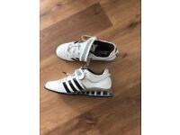 Adidas adipower lifting shoes , size uk 8.5