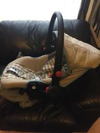Chicco Baby Car Seat used