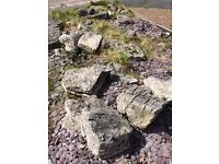 Large Rockery Rocks, over 30 pieces