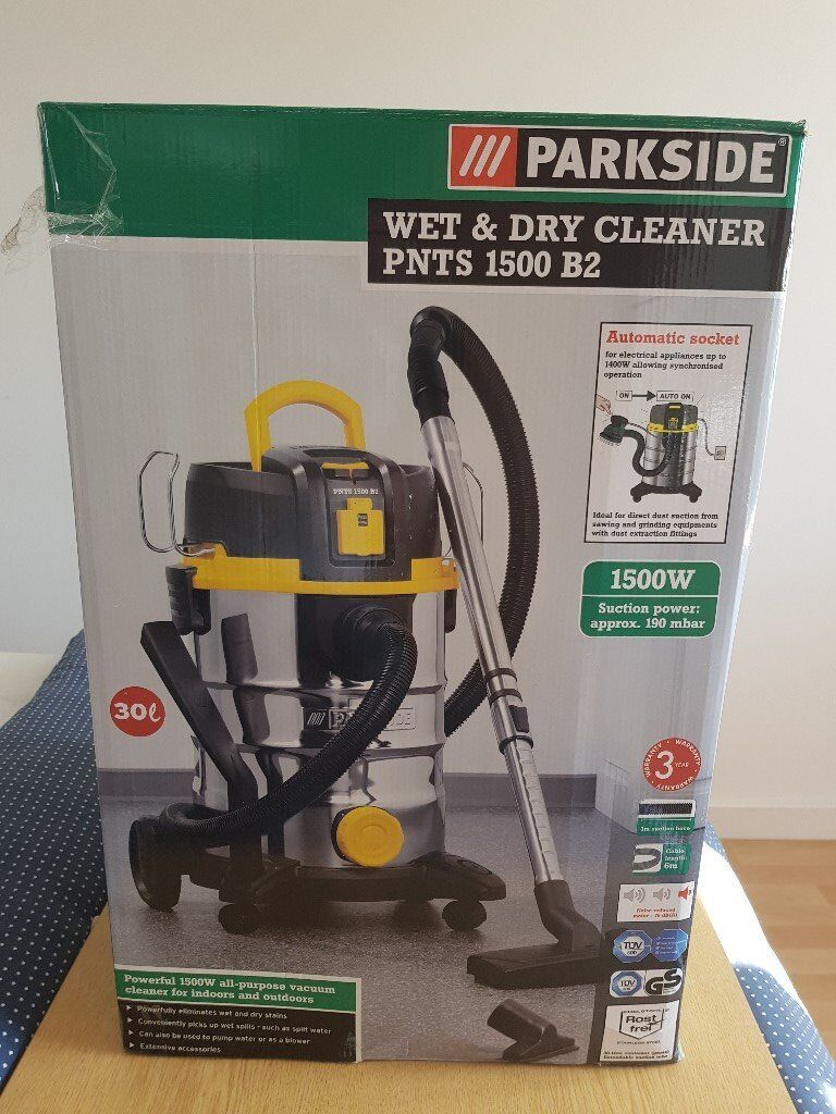 Parkside 30l Wet Amp Dry Cleaner Pnts 1500 B2 1500w In