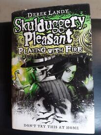 Skulduggery Pleasant book