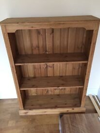 £55 each or both for £100 2 matching Solid wood bookcase/shelving units