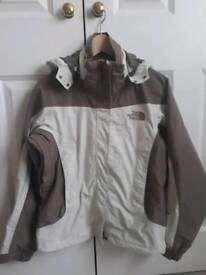 Ladies north face technical coat sz xs
