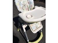 Cossato aurora high chair