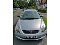 2004 Honda Civic 1.4 Petrol, 3 Door